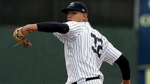 Righty Dellin Betances has 13 strikeouts in his last 13 innings.