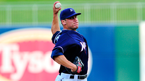 Left-hander Chris Dwyer tossed 6 2/3 no-hit innings for Northwest Arkansas.