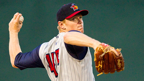 Casey Crosby is 5-0 with a 2.86 ERA in his last nine starts.