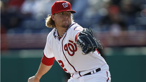 Drew Storen saved 43 games and posted a 2.75 ERA for Washington last season.