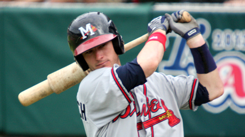 Joe Terdoslavich has recorded 30 RBIs in 45 Southern League games.
