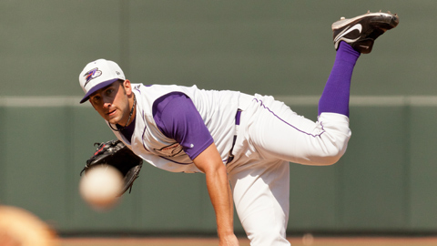 Matt Wickswat is the only lefty reliever to pitch for Winston-Salem this year.